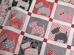 118 best Scottie Quilts images on Pinterest | Scottie dogs, Dog ... & www.hollyhillquilts.com Mama Said Sew Bitsy Buttons Quilt Kit Bunnyhill  pattern Adamdwight.com