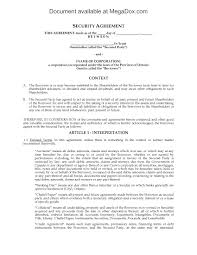loan and security agreement template. Ontario Security Agreement for Shareholder Loan Legal Forms and