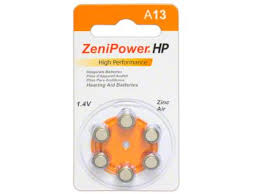 Hearing Aid Battery Sizes Chart Hearing Aid Batteries In All Sizes 10 13 312 675