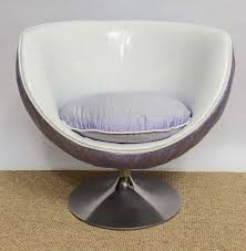 Space Age Furniture 1960s Space Age Swivel Lounge Chair At 1stdibs