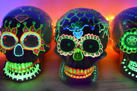 You won't believe what they looked like before they were transformed into  Glow in the Dark skulls.