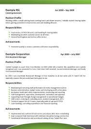 Resume Career Objective Examples Hospitality Hospitality Resume