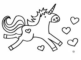 Kleurplaat Unicorn Met Regenboog Kleurplaat Eenhoorn Download Gratis