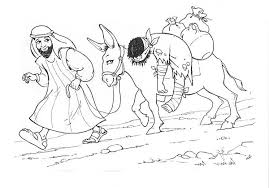 Small Picture Depiction of Good Samaritan Coloring Page NetArt