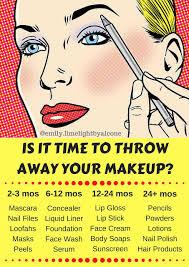 Makeup Expiration Chart Makeup Expiration Tumblr