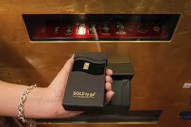 Gold To Go Vending Machine Magnificent Gold Bullion Dispensing Machine Urea International Price