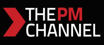 channel logo. the pm channel logo