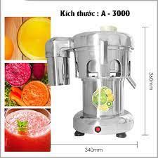 Máy ép trái cây công nghiệp inox 304, ép số lượng lớn trái cây, bền bỉ giá  cạnh tranh