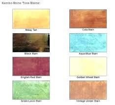 Concrete Floor Color Chart Concrete Color Dye Britecontent Co