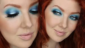 blue eyeshadow tutorial 2 minute eyes