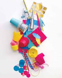 Bargain Party Decorations Turn Bargain Basics Into Cheerful Party Supplies Martha Stewart
