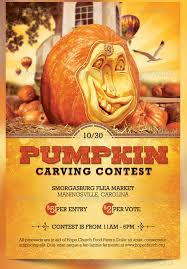 Pumpkin Carving Contest Flyers Pumpkin Decorating Contest Flyer Template Wiisportsleagues Com