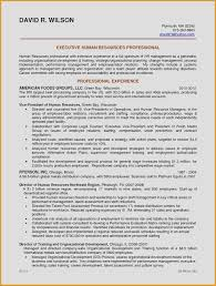 Examples Of Human Resources Resumes Hr Resume Sample Fresh Sample ...