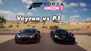 Driving the bugatti veyron super sport in forza horizon 3. Mclaren 720s Mclaren P1 Vs Bugatti Veyron