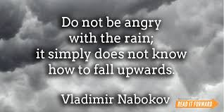 famous literary quotes about rain it forward nabokov quote rain
