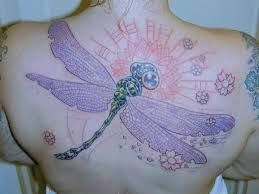 Význam Vážky V Umění Tetování