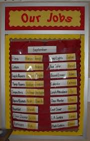 First Grade Classroom Job Chart Ideas For Classroom Jobs Classroom Helper Systems