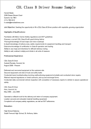 Truck Driver Resume Samples 117897 Cdl Truck Driver Job Description