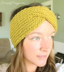 Knitted Headband Pattern Custom Decorating Design