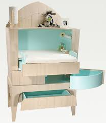 baby modern furniture. nappy changing commode from castor and chouca baby modern furniture