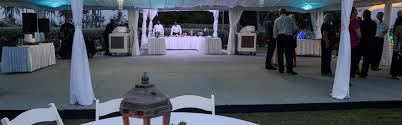 Event Equipment Wedding Supplies From Ellco Rentals Barbados