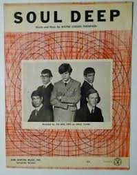 Details About Soul Deep Sheet Music The Box Tops 1969 Pop 18 Hit