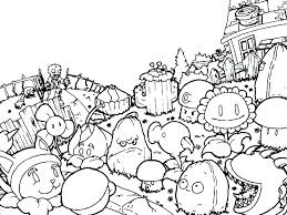 Plants Vs Zombies 2 Its About Time Garden Coloring Images Pages
