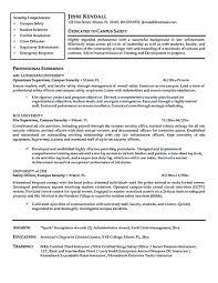 Law Enforcement Resume Objective Elegant Pin On Resume