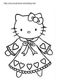 Dessins De Coloriage Hello Kitty Imprimer Sur Laguerche