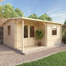 home office cabin. Click Image To Enlarge Waltons 5m X 4m Home Office Executive Log Cabin .