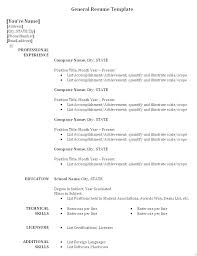 Objective For Job Resume Interesting Resume Objective Examples General Employment And Restaurant Resume