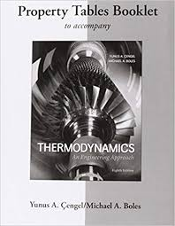 Property Tables Booklet for Thermodynamics: An Engineering Approach ...