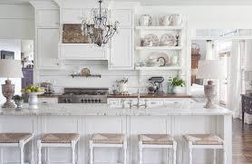 all white kitchen designs. White Farmhouse Kitchen All Designs