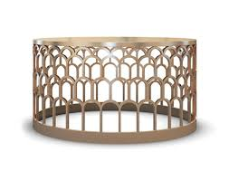 Creative Of Round Brass Coffee Table Cutouts Brass Coffee Table