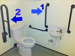handicap bars for bathrooms toilets. #1 shows that the have horizontal grab bars but vertical ones too. i a bar next to my home toilet because is natural arm position handicap for bathrooms toilets t
