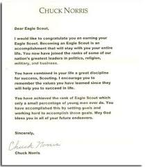 Eagle Scout Letter Of Recommendation Enchanting Cool Eagle Scout Letters Boy Scout Stuff Pinterest Eagle Scout