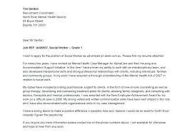 Community Service Resume Sample Cover Letter For Social Work Social