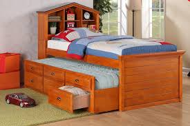 kids twin beds with storage. Image Of: Rustic Twin Bed Storage Kids Beds With .