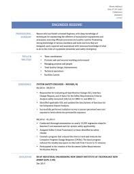 resume examples mechanical engineer resume sample mechanical manufacturing resume sample manufacturing technician resume