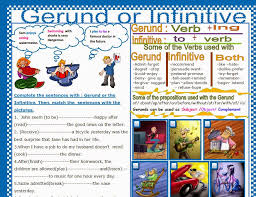 Blog for Alma Aguilar's students B1.2: Gerund or Infinitive? more ...
