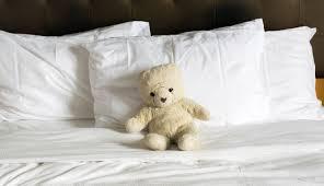 Afbeeldingsresultaat voor knuffelbeer om in bed te nemen