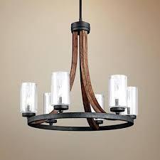 deals on cal lighting wood metal chandelier regarding and wood and metal chandelier grand bank wide wood cage chandelier