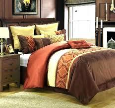burnt orange bedding bright orange comforter sets incredible ideas burnt orange comforter sets bedding bright superb