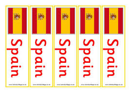 Small Picture Spain Flag Printables