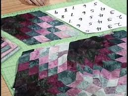 Best 25+ Diamond quilt ideas on Pinterest | Quilt patterns, Baby ... & Video Detail for Spinning Diamonds Quilt Pattern with Kaye Wood Adamdwight.com