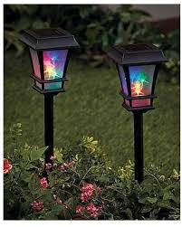 Spectacular Deal On Unbranded 3d Colored Solar Stake Lights Solar Solar Landscape Lighting Stakes