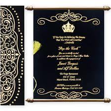 Scroll Wedding Invite Buy Scroll Wedding Cards Online From 1 Indian Wedding Invitation