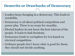 what is democracy and why democracy  12