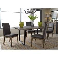 liberty furniture haley springs 5 piece trestle table set furniture chair set4 furniture
