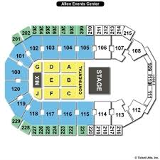 Iowa Event Center Seating Chart Allen Event Center Seating Chart Automatic Wrist Blood